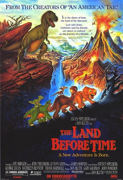 The Land Before Time...I loved this movie!