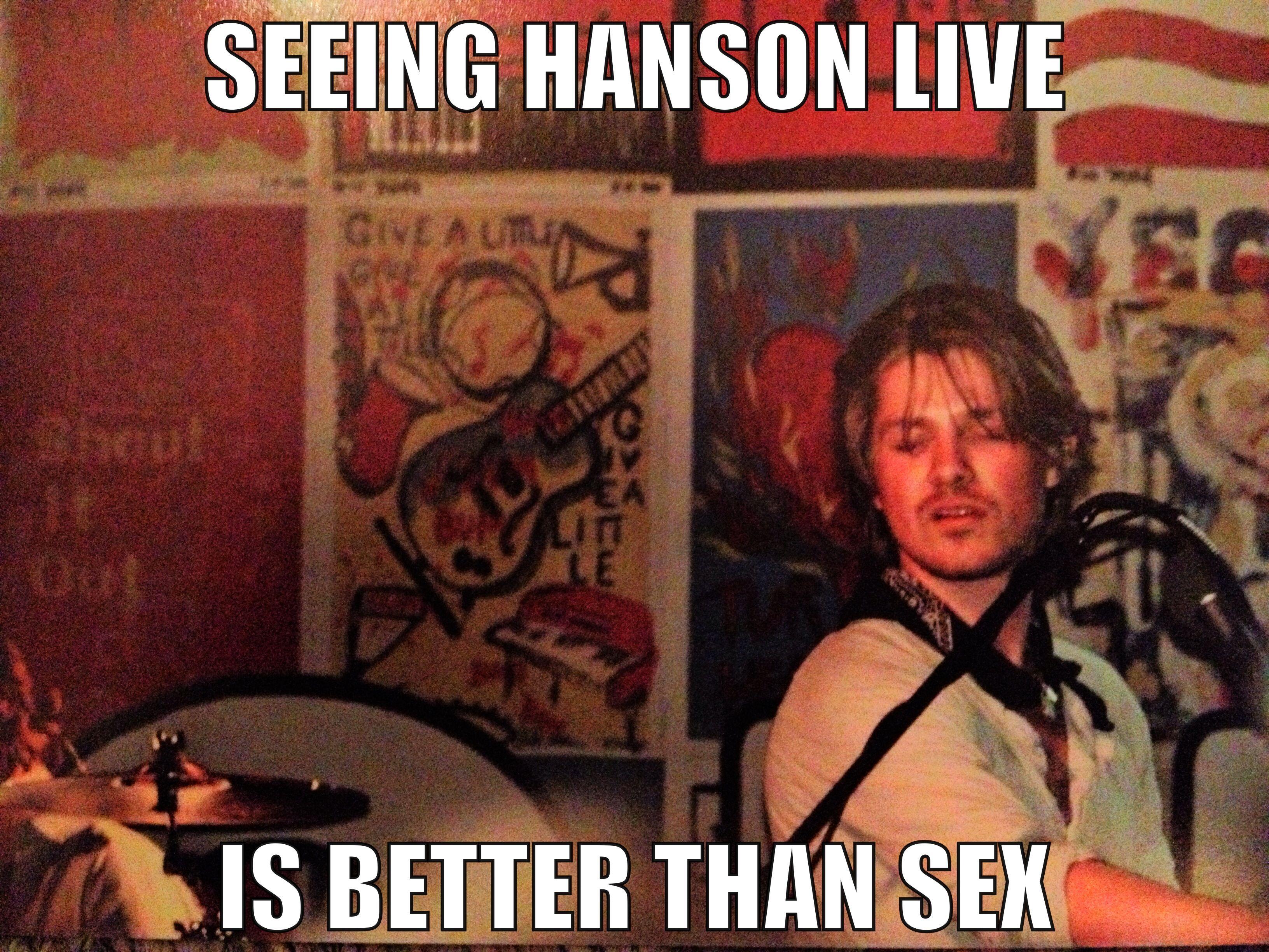 Pin on Hanson LOVE