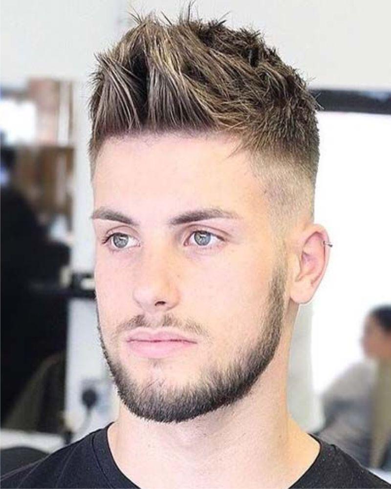 Zeer Korte kuif, herenkapsels 2018 | kapsels kort in 2018 - Hair, Hair @WH43