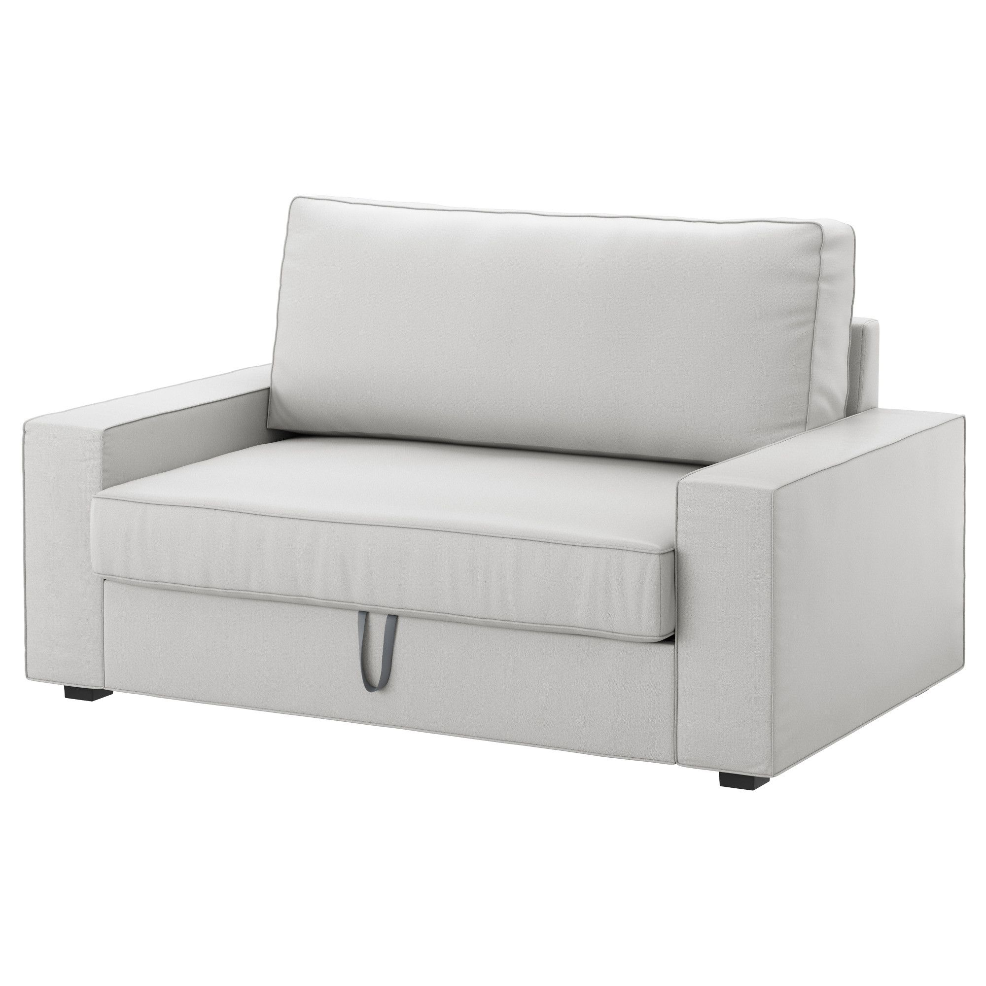 Canapé Ikea Convertible 2 Places vilasund sofa dwuosobowa rozkładana - orrsta jasnoszary