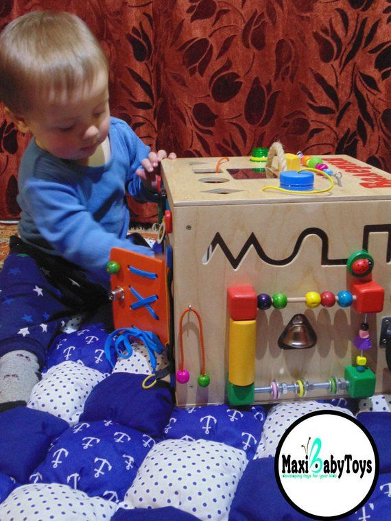 fa69b225e15b2 Customized wooden toy, Busy Box, Toddler Busy board, baby Activity ...
