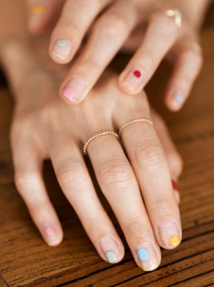 Beautyblog Bare Minds Bunt Nail Art 5 - #nageldesing |