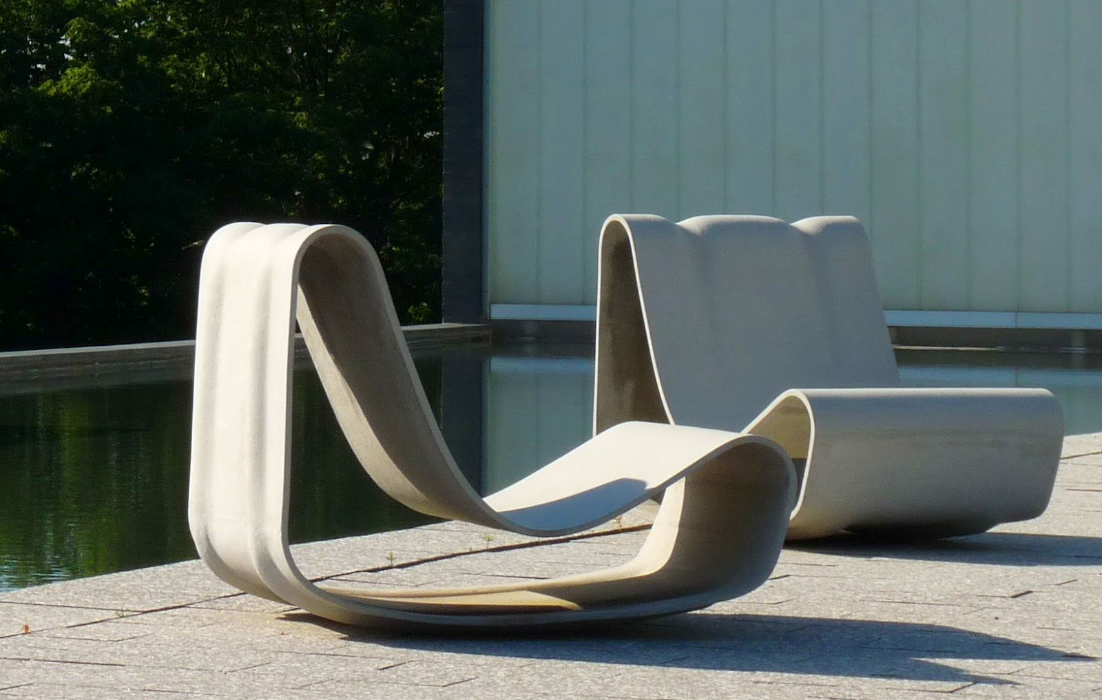 Small patio furniture modern outdoor furniture concrete furniture furniture ideas contemporary furniture