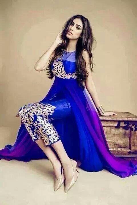 Royal Blue Paki Fashion Indian Dresses Dresses Indian Outfits