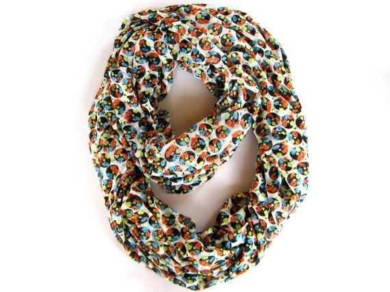 #poepoepurses #etsy #polkadotscarf #infinityscarf #eternityscarf #accessories