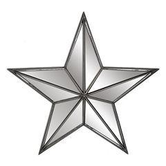 Belle Maison Mirrored Star Wall Decor | Kitchen | Pinterest | Star ...