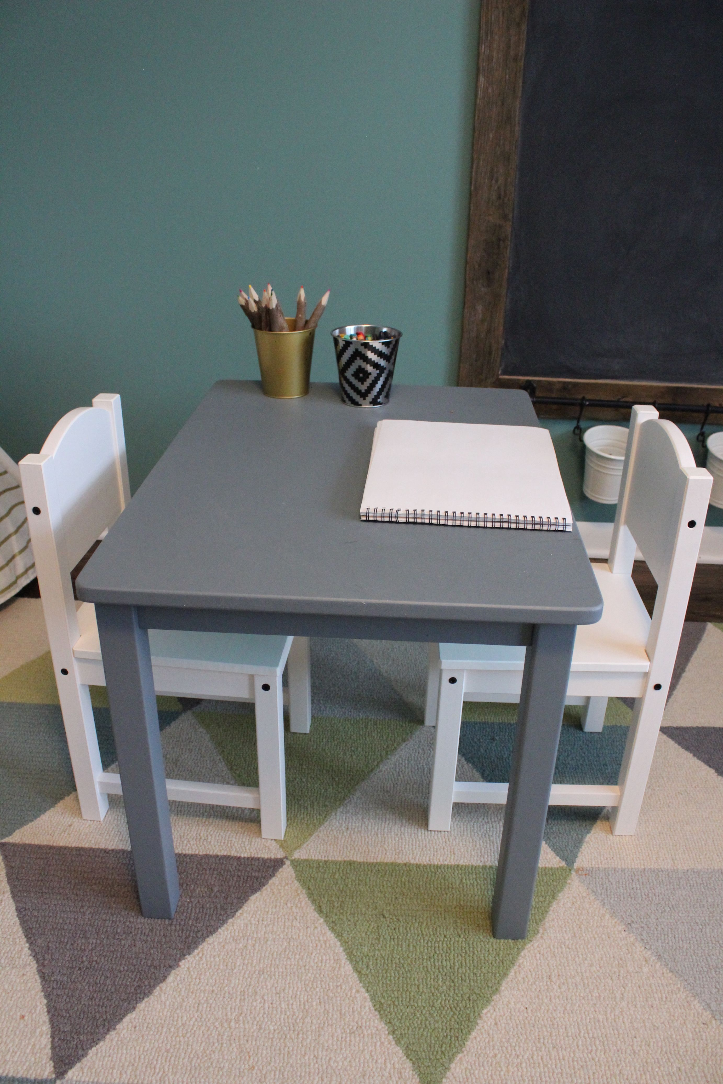 Playroom Reveal Kids Table And Chairs Ikea Kids Table Ikea