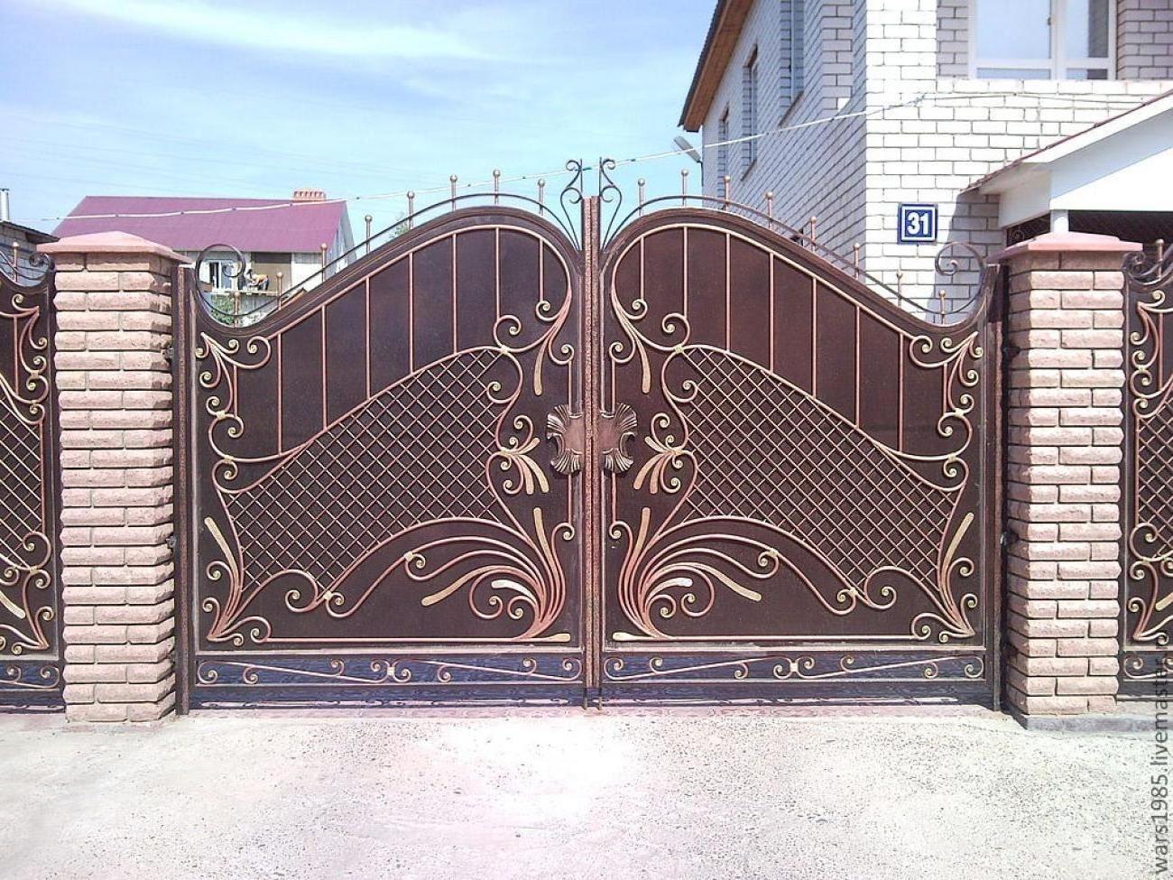 Bill Gates Recent House Main Gate Design Gate Design Gate Wall Design