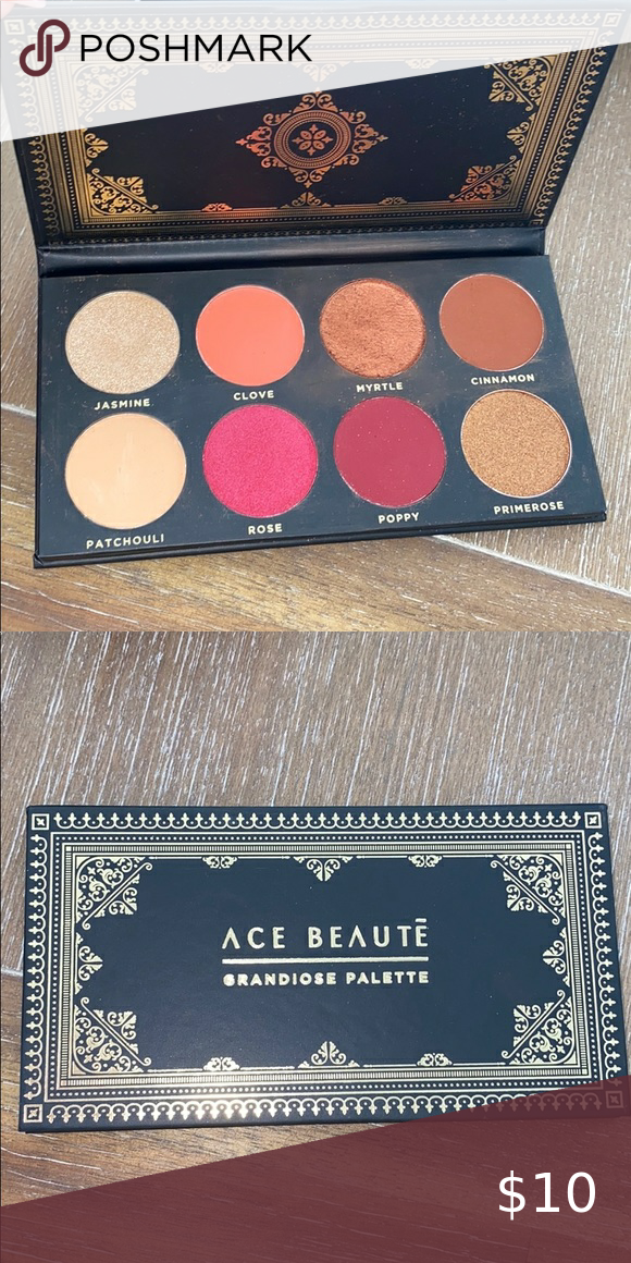 (Sold) Ace Beautē eyeshadow Palette in 2020 Eyeshadow