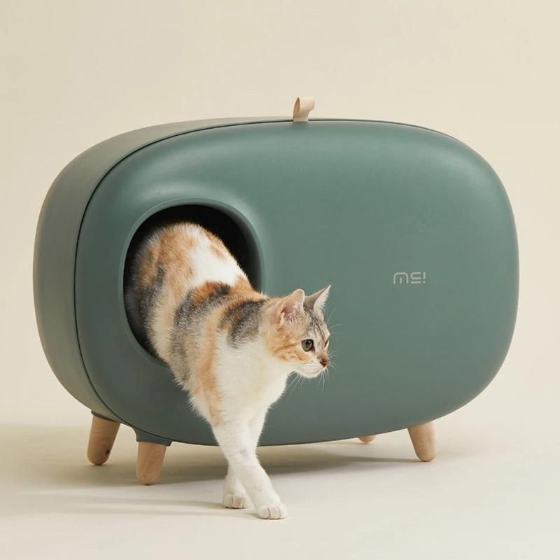 Pin By Kimber Snyder On Pet Product In 2020 Cat Litter Box Furniture Hiding Cat Litter Box Cat Bed