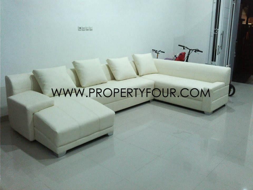 Yang Sofa sofa l minimalis dengan dimensi besar, dapat memberikan kesan