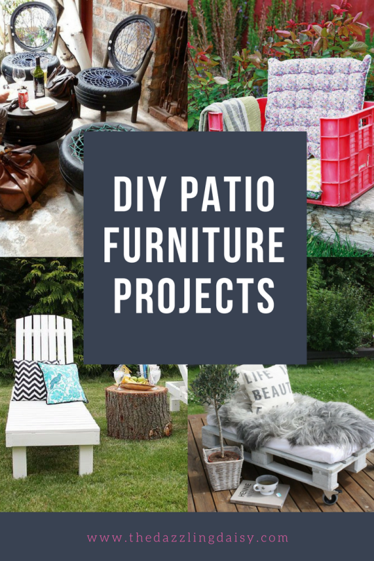 easy to make diy patio furniture projects day bed tutorials and repurpose projects - Easy Garden Furniture To Make