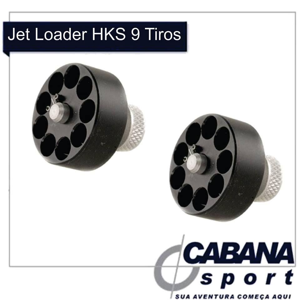 Jet Loader HKS 9 Tiros APLICAÇÃO: Remuniciador para Revólveres Modelo 22-HR para 9 tiros. Este carregador é um produto líder no mercado americano por sua qualidade e simplicidade. Também por ser leve e pequeno se adapta perfeitamente para profissionais que atuam na área de segurança. MODELOS: Cal .22 L.R., Taurus 94, 22 LR, H&R 9 SHOT. Confira http://goo.gl/pjBpRa