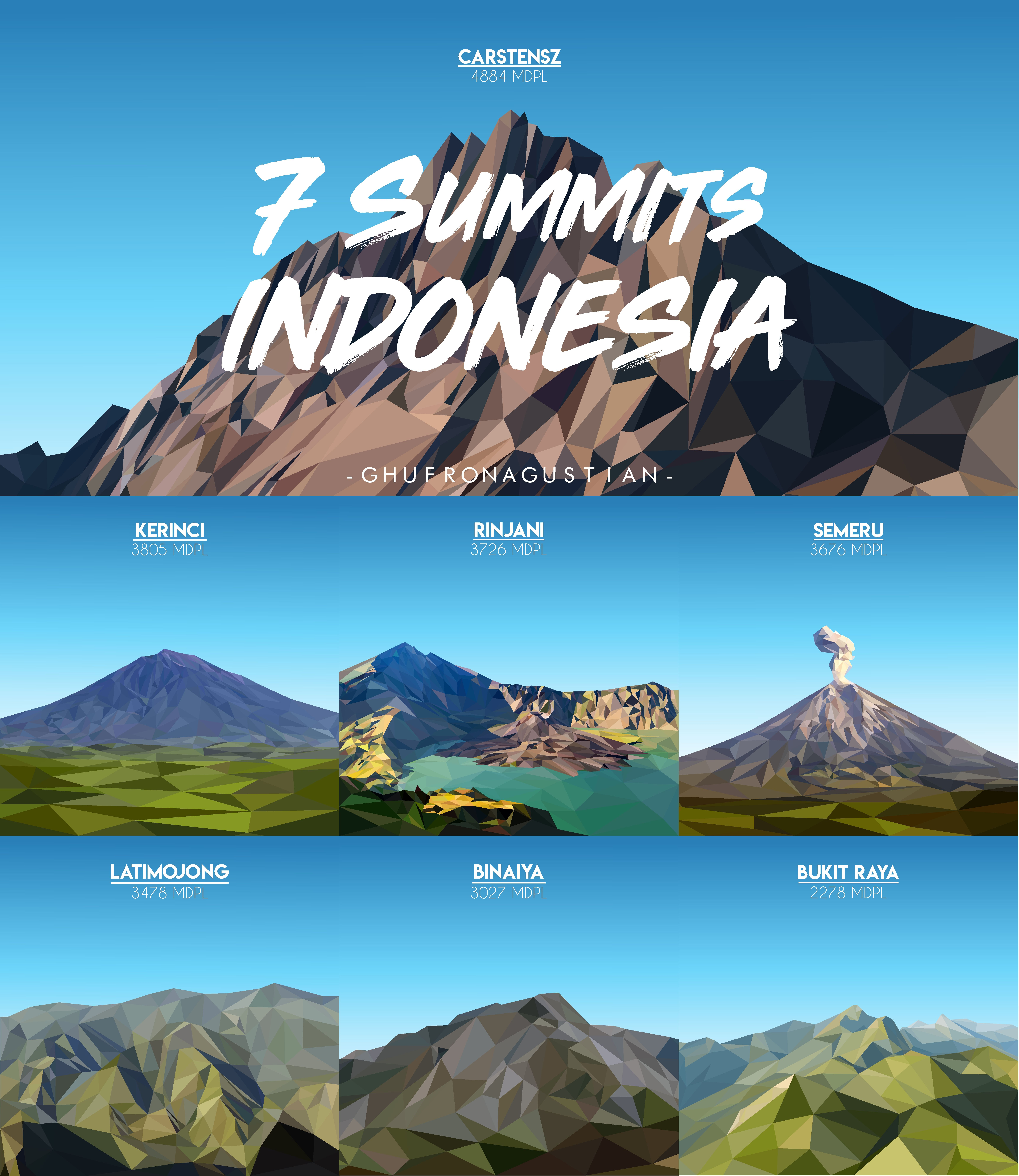 Pin Di Gunung Indonesia