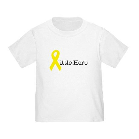 Little Hero - Cancer Toddler T-Shirt