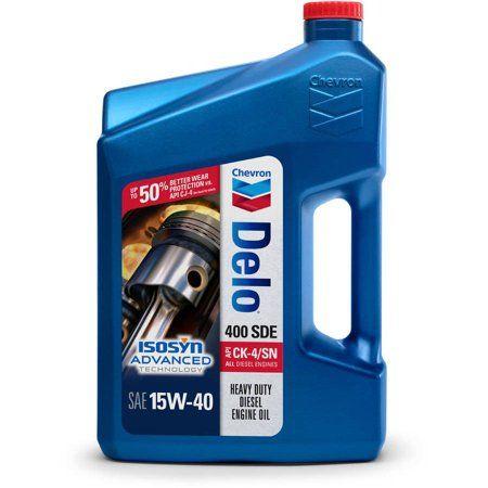 Chevron Delo 400 Sde Sae 15w 40 1 Gallon Oil Service Portable