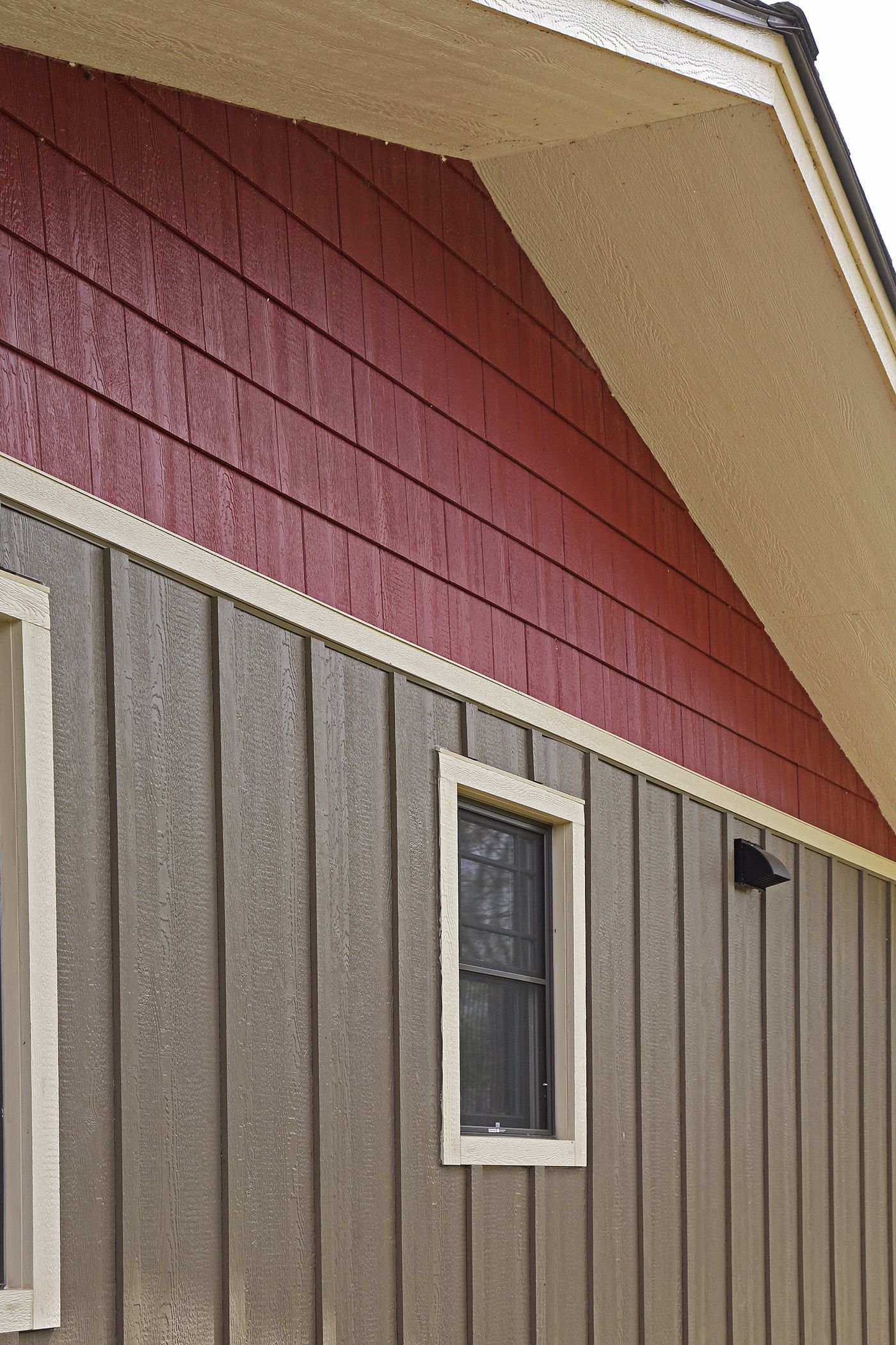 Lp Smartside Seal Diamond Kote Board And Batten Siding With Lp Smartside Cinnabar Diamond Kote Shake Siding Options Board And Batten Exterior Installing Siding