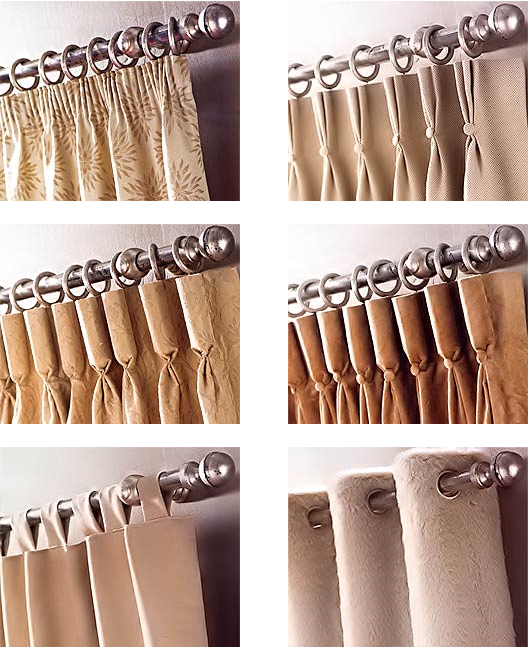 How Different Types Of Pleats Work With Different Fabrics Curtains Living Room Drapery Designs Curtains