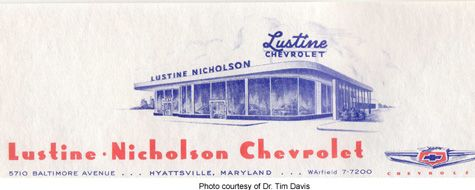 Lustine - Nicholson Chevrolet Dealership, Hyattsville ...