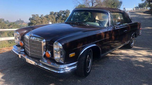1971 Mercedes Benz 280se Cabriolet S163 1 Glendale 2021 In 2021 Mercedes Benz Glendale Benz