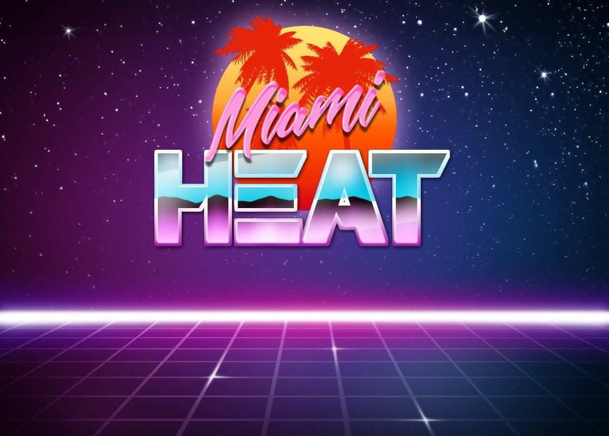 Expansion On Miami Heat Vice Outrun Miami Heat Miami Heat Logo Heat