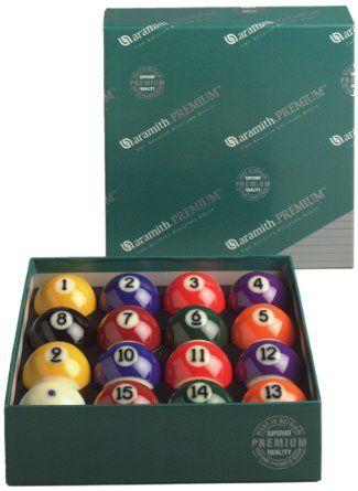 Bola Bilyar : bilyar, Amazon.com:, Aramith, Premium, 1/4-inch, Juego:, Deportes, Tiempo, Libre, Billiards,, Ball,