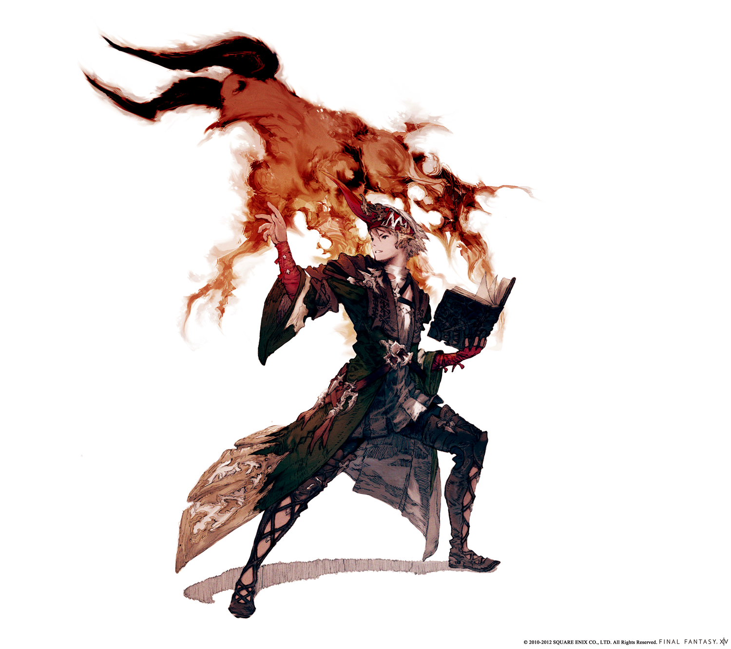 Summoner Job Concept Art From Final Fantasy Xiv A Realm Reborn Final Fantasy Art Final Fantasy Xiv Concept Art Characters