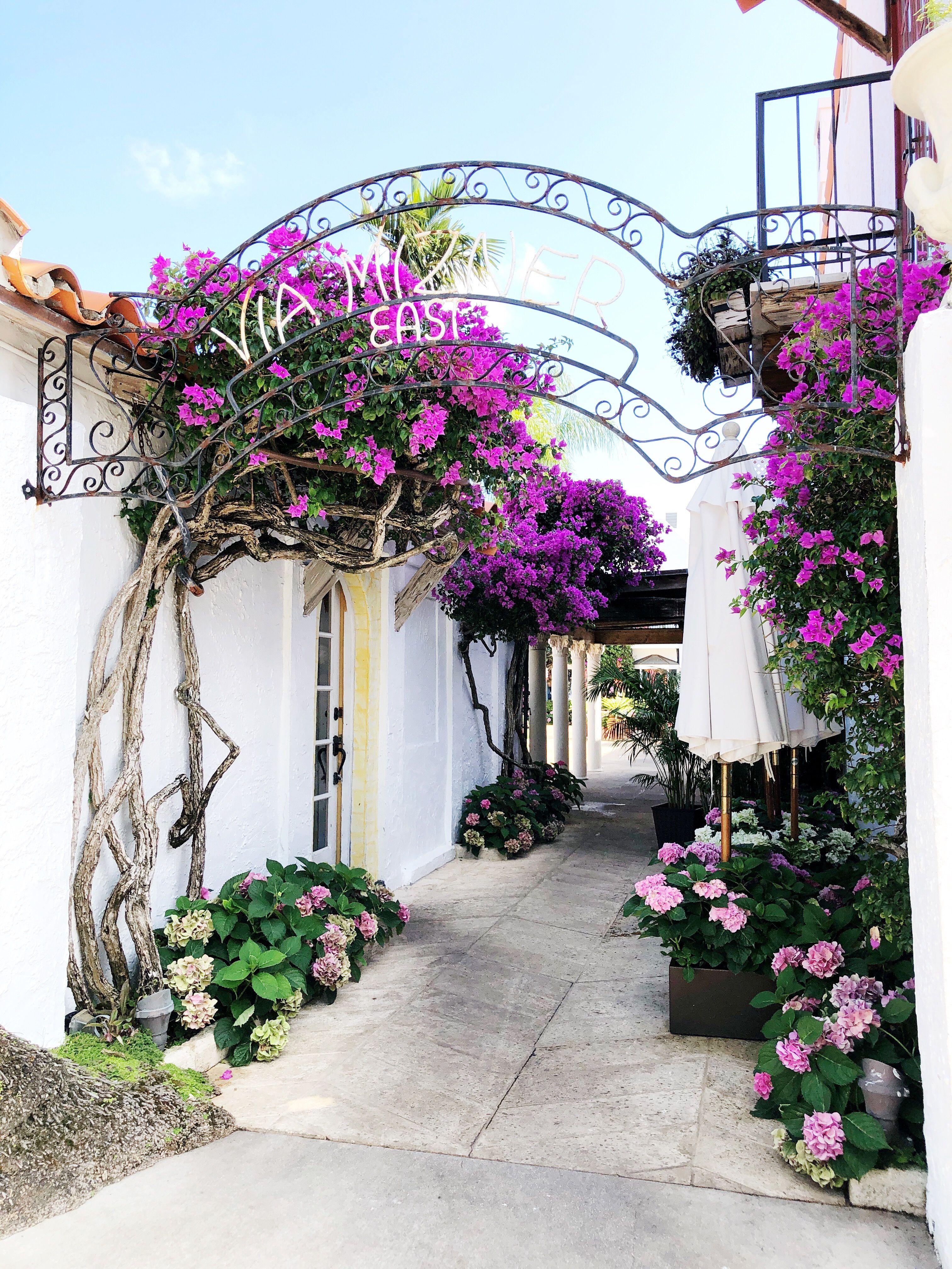A Tropical Midi Skirt to Wear in Palm Beach, Florida