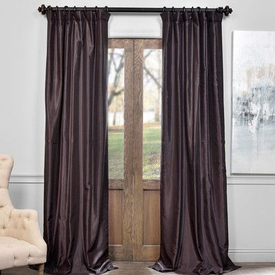 Found it at Wayfair - Vosselare Blackout Curtain Panel home decor
