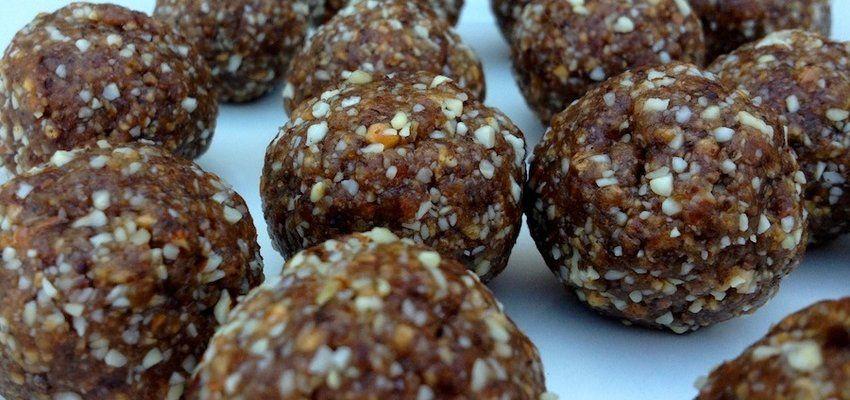 // Gluten-Free Recipe: Apple Pecan Pie Balls