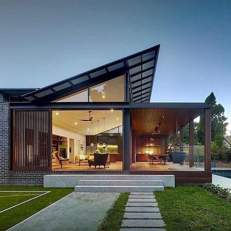 80 Marvelous Modern House Architecture Design Ideas Page 35 Of 82 House Architecture Design Passive House Design Architecture