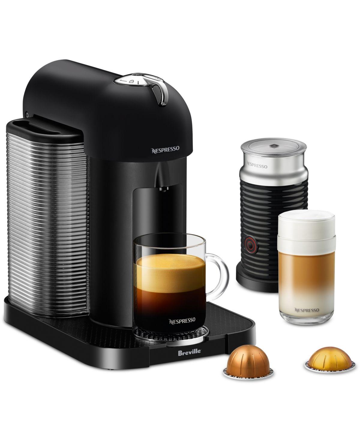 Nespresso by Breville VertuoLine Coffee & Espresso Machine with Aeroccino & Reviews - Coffee Makers - Kitchen - Macy's #espressomaker