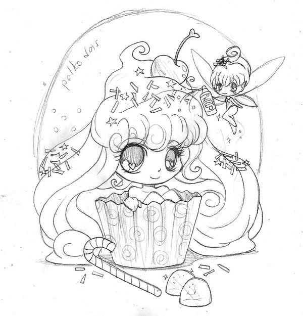 Fairy coloring pages by Genevieve Staley on Yam puff