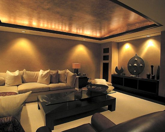 Basement Lighting Recessed Ceiling: Contemporary Low Basement Ceilings Design, Pictures