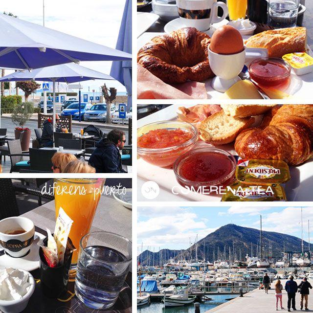 Desayunos con vistas al Puerto | Diferens Puerto | Puerto de Altea | #Altea #restaurante #mediterraneo #comer_en_altea