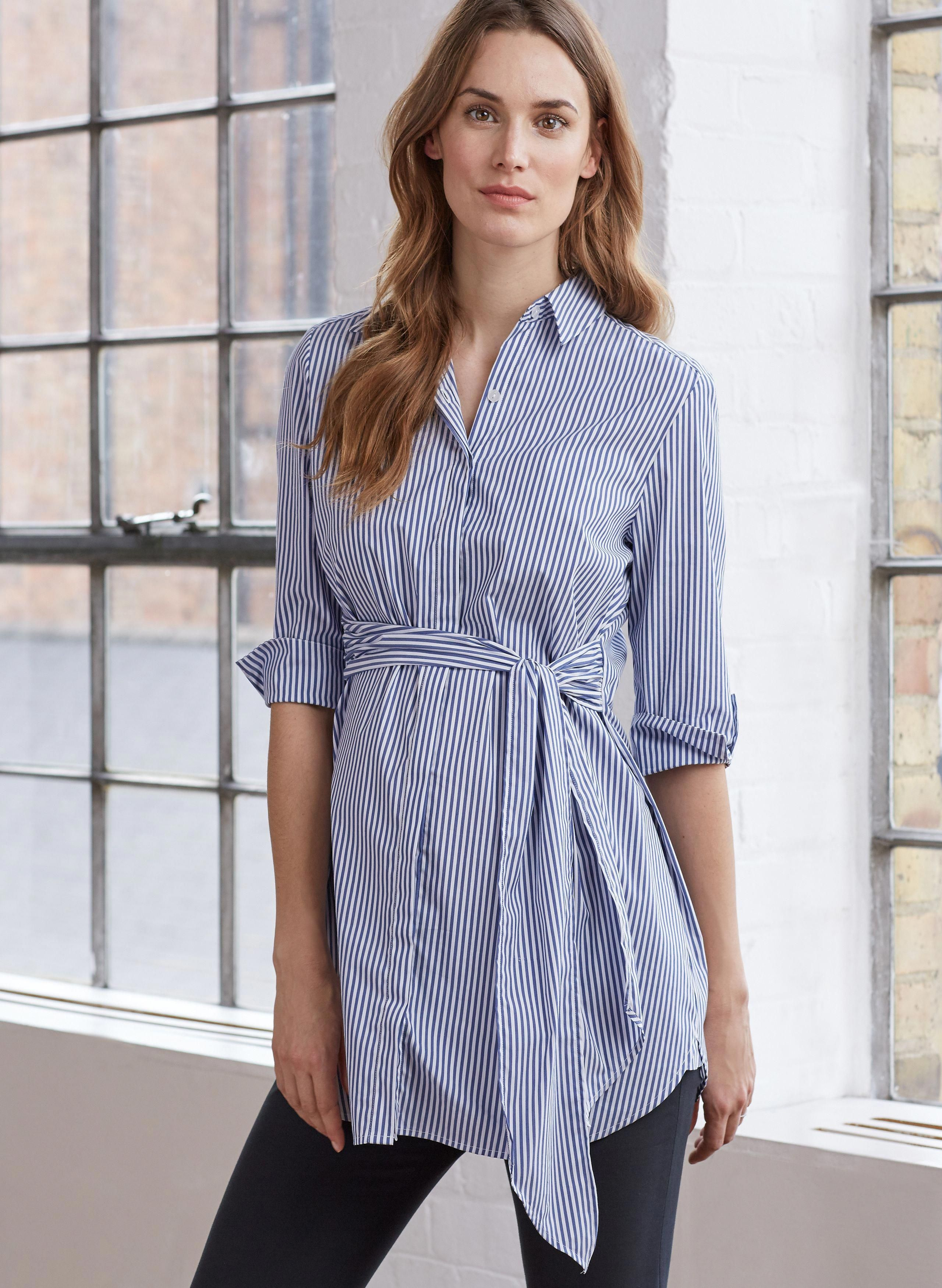 d70211af61e6d Dora Maternity Shirt in [colour] at Isabella Oliver. Shop our luxury  collection today for stylish, premium quality maternity clothes that will  last.
