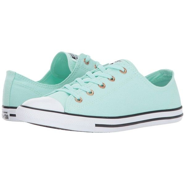 Trainers � Converse Chuck Taylor All Star Dainty - Ox (Mint Foam/White/Gold)