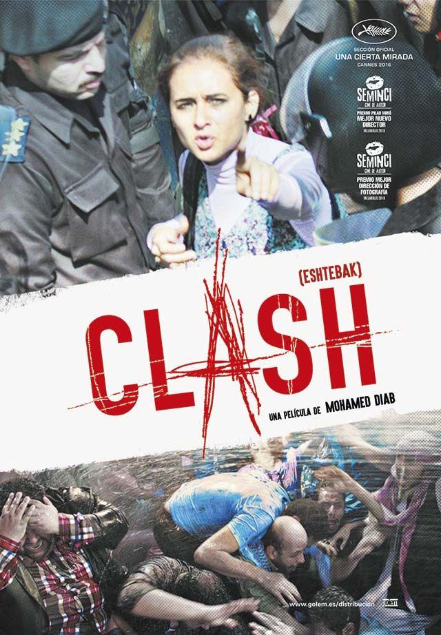 """Clash (2016) """"Eshtebak"""" de Mohamed Diab - tt5599692"""