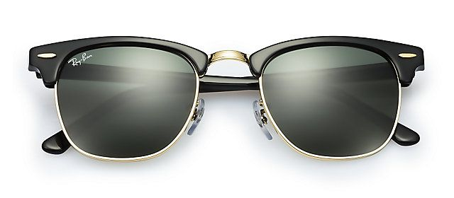 Ray-Ban RB3016 W0365 49-21 CLUBMASTER CLASSIC Black sunglasses   Official  Online Store US 73751da1fb36