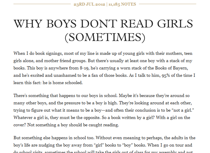 Why Boys Dont Read >> A Silly Issue We Need To Solve Why Boys Don T Read Girl