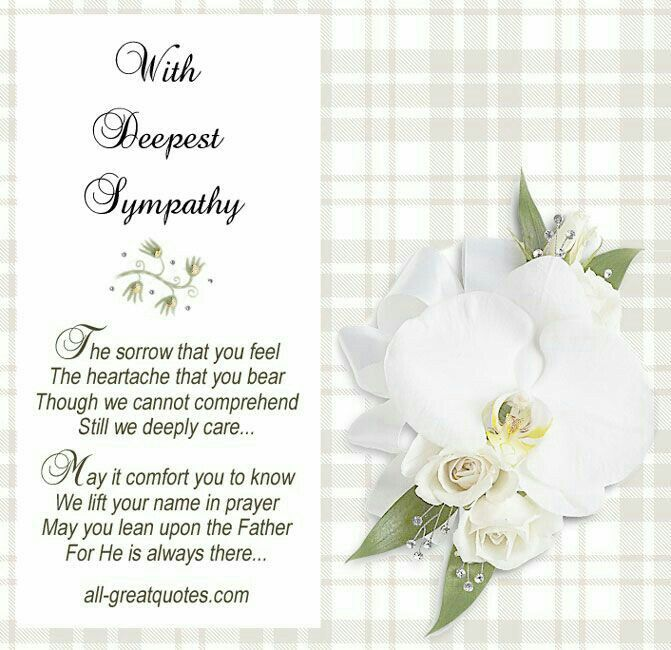 Pin By Earla Reynolds On Heartfelt Sympathy Condolences Quotes