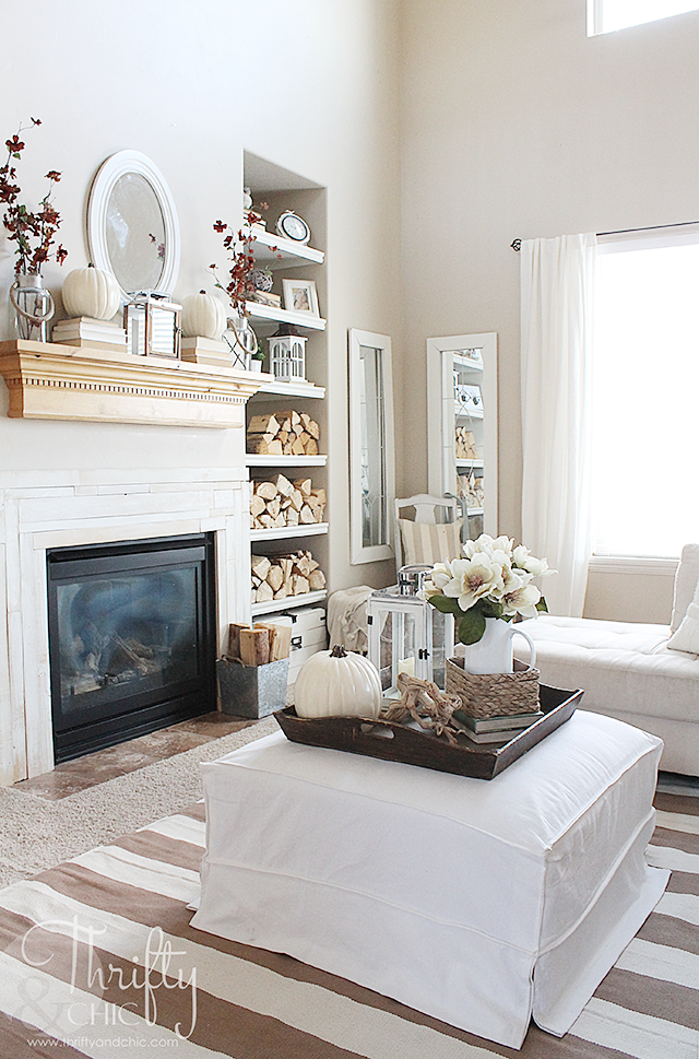 Living Room Update Ideas: Fall Home Tour Part 2 And Living Room Update