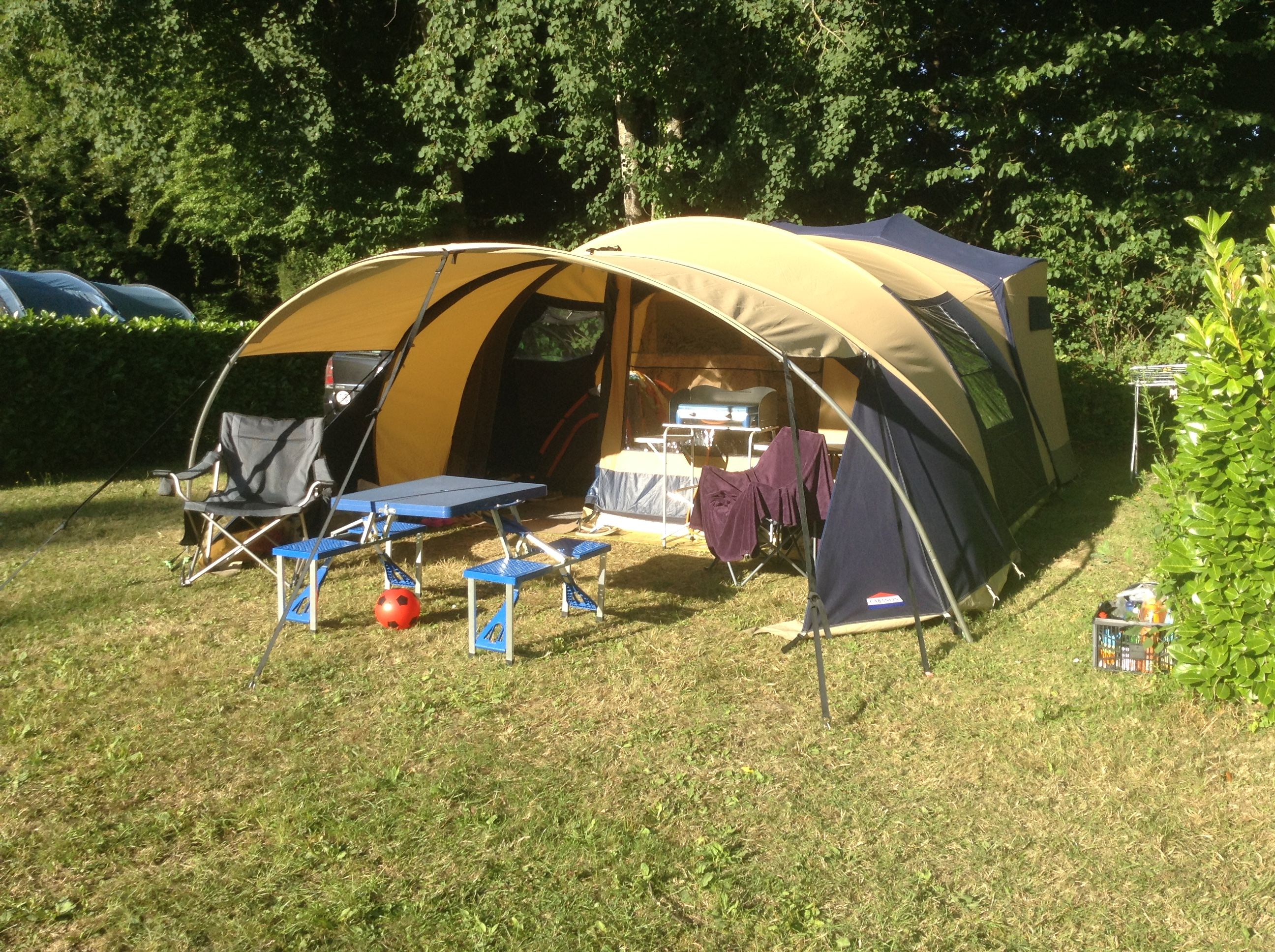 cabanon stratos.my tent on site in Brittany..perfect pitch.fantastic weather & cabanon stratos.my tent on site in Brittany..perfect pitch ...