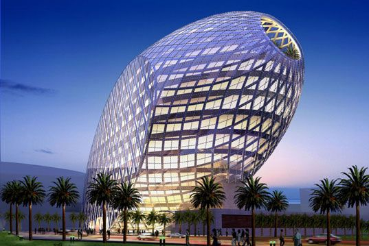 James Law\u0027s High Tech \u0027Cybertecture Egg\u0027 for Mumbai Architecture