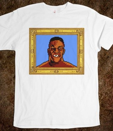 5dd59b987 Mikey - Mike Tyson's Punchout | Gaming shirts | Shirts, Mike tyson ...