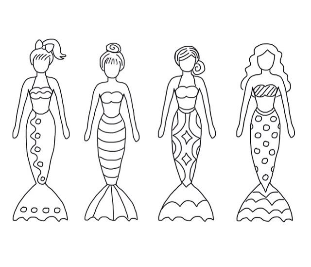 Color Sheet Mermaids Mermaid Crafts Mermaid Coloring Coloring Pages
