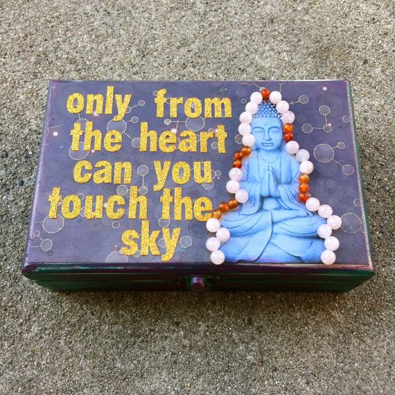 Buddha Crystal Healing Box by intralove on Etsy