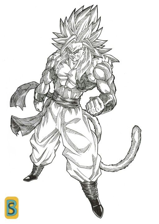 Gogeta With Images Dragon Ball Art Dbz Drawings Dragon Z