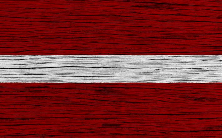 download imagens bandeira da letónia 4k europa textura de madeira