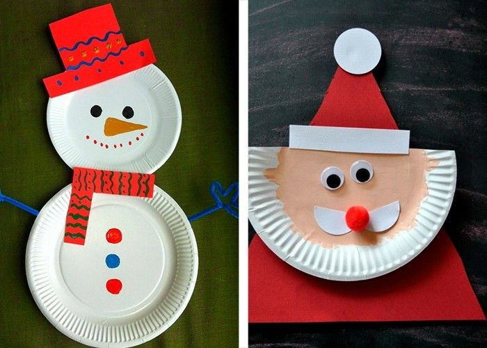 Pappteller Basteln Weihnachtsbasteln Mit Kindern Weihnachtsbasteln